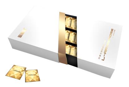 斜抽拉式化妆品盒