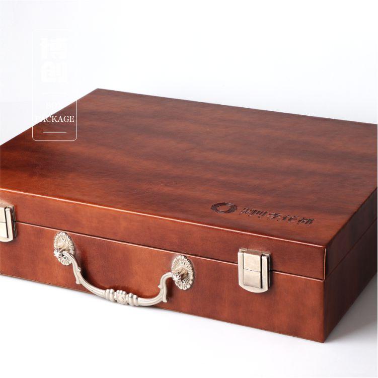高档皮盒、手提箱